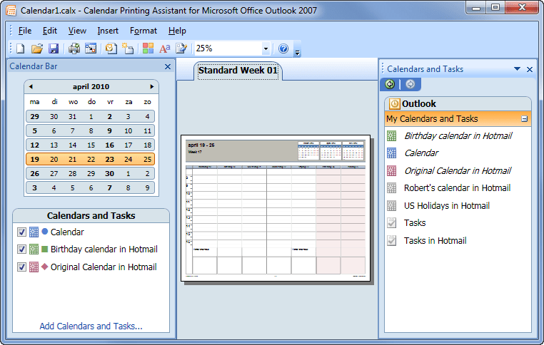 outlook calendar printing assistant templates.html