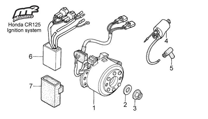 1997 cr125r engine diagram