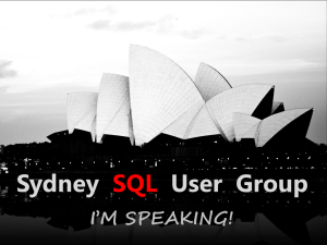 Sydney SQL User Group Icon