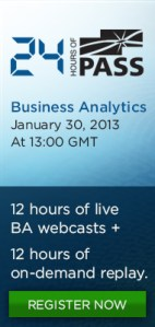24 Hours of PASS - Business Analytics