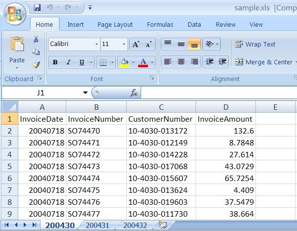 Retrieve Excel Schema Using SQL Integration Services SSIS