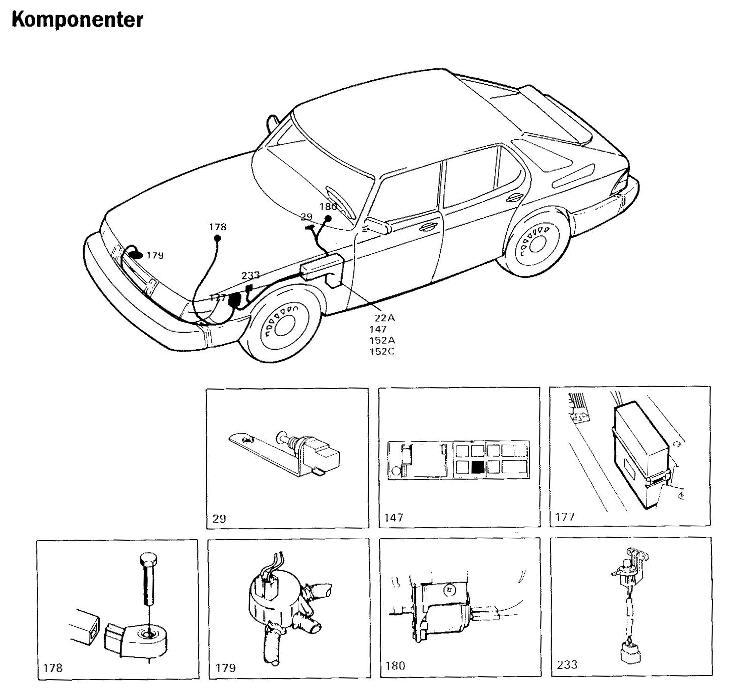 saab 900 turbo wire diagram