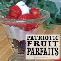 Patriotic Fruit Parfaits