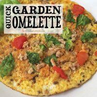 Quick Garden Omelette