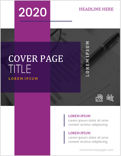 cover page for ms word 2007 templates
