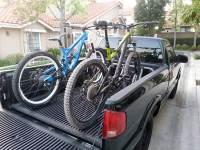 Back Of Truck Bike Rack - Lovequilts
