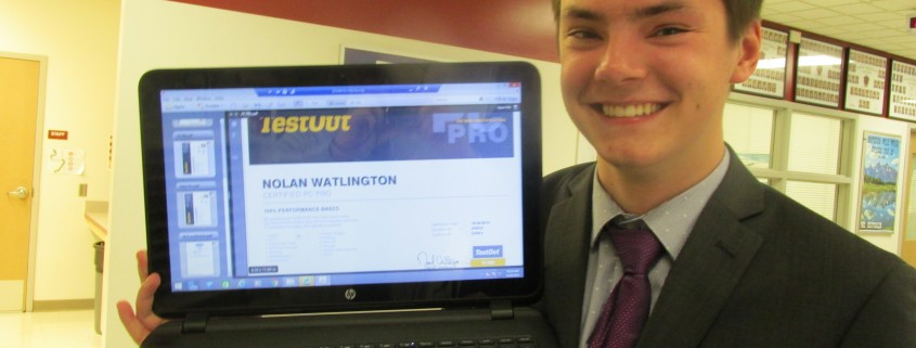 MTCHS TestOut PC Pro Certification \u2013 Nolan Watlington