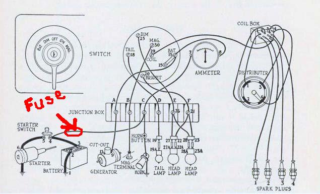 1954 ford tractor wiring diagram