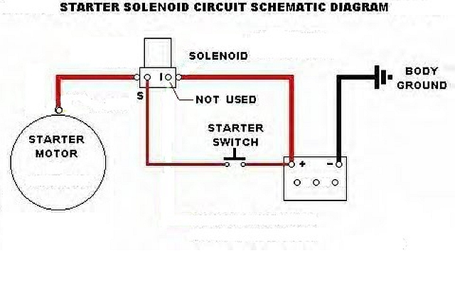 how to wire a ford starter solenoid