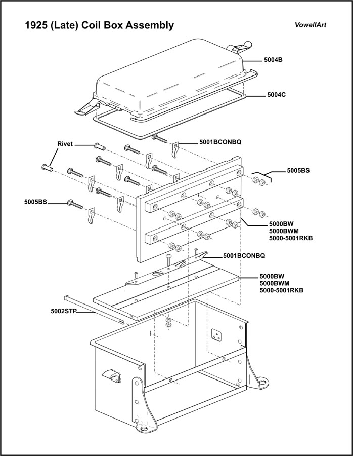 model t coil box wiring diagram