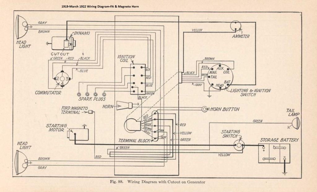 Ford Model Wiring Wiring Diagram