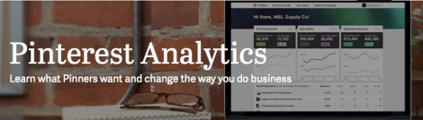 Check Out the NEW Pinterest Analytics!