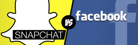 Infographic: Snapchat vs. Facebook