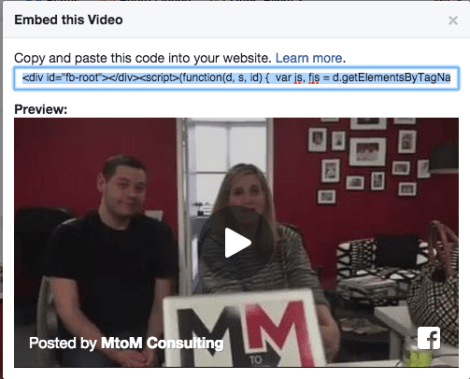 F8 News: You Can Finally Embed Facebook Videos on Your Site!