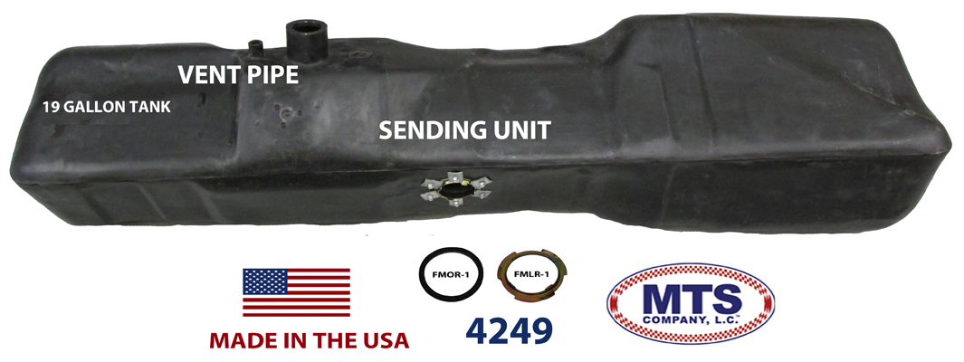 MTS COMPANY, LC - Ford Pickup fuel tanks