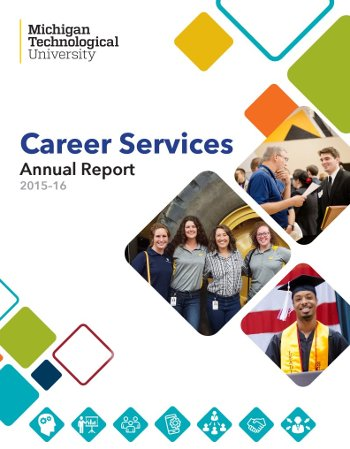 Annual Reports Career Services Michigan Tech