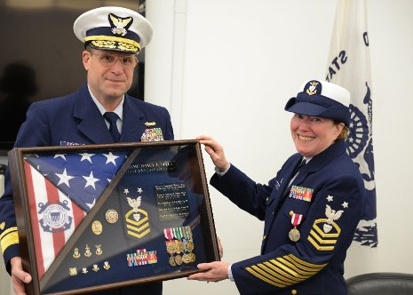 Seely Retires from USCG Reserve Michigan Tech News