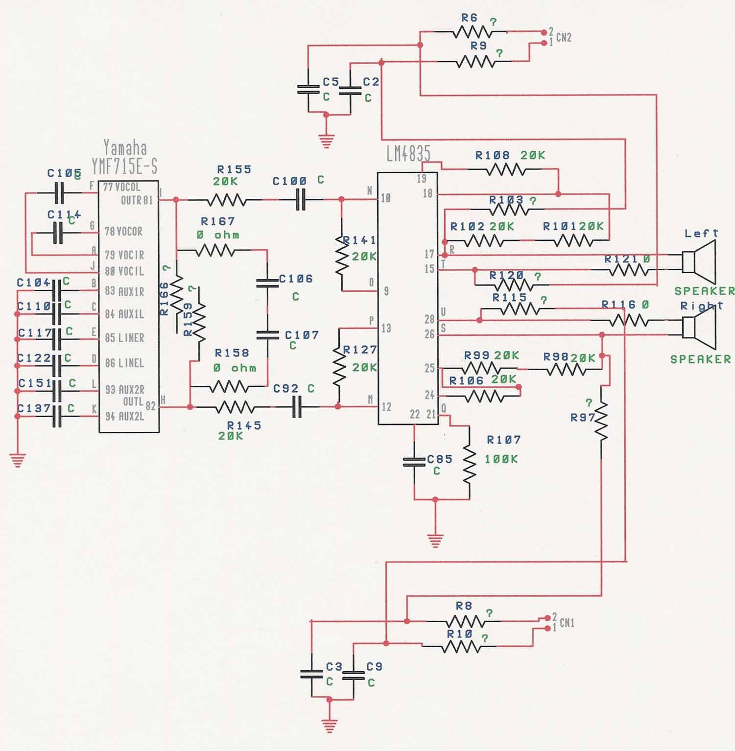 Proficient Audio Wiring Diagram Auto Electrical Music Vision Circuit Tradeoficcom