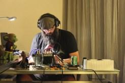 Keeper Murph manning the recording during Jon's Live Play