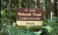 Toll Gate Campground Sign