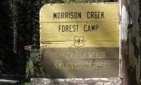Morrison Creek Campground Sign