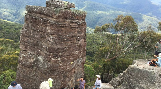 Sunday 21st February 2016 The Ruined Castle Blue Mountains, NSW