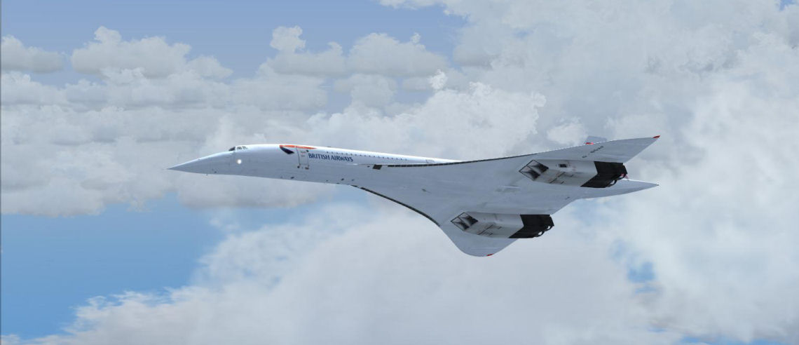 Flight Sim Labs Concorde-X A Quick Hop Across The Pond Mudspike