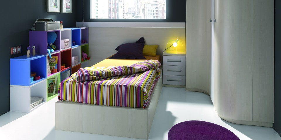 Práctica  habitación juvenil
