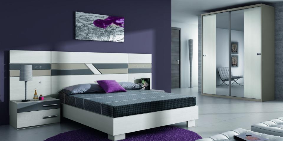 Original dormitorio kroma muebles alonso for Dormitorio original