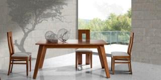 Mesa Mónaco y sillas Montecarlo