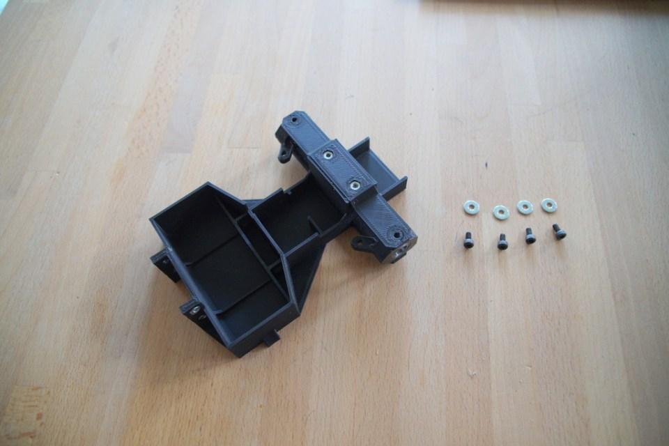 step 5, fix steering blocks