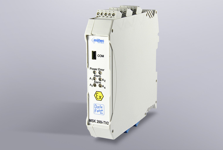 Sil2 Transmitter Power Supply With 2 Outputs Msk 200i Tv2