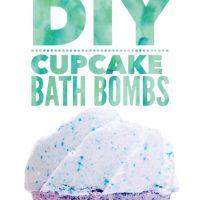 Cupcake Bath Bomb DIY