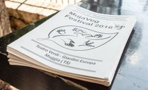 Volantini MujaVeg Festival Vegano Muggia