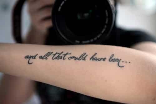 Cozy Frases Para Tatuajes De Mujer En El Brazo Fotos Con Las