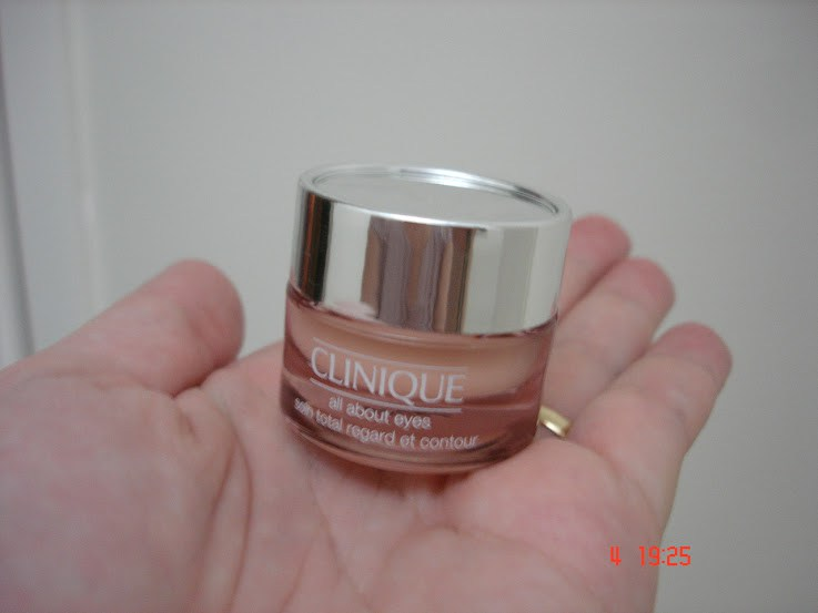 All About Eyes Clinique - resenha antes e depois