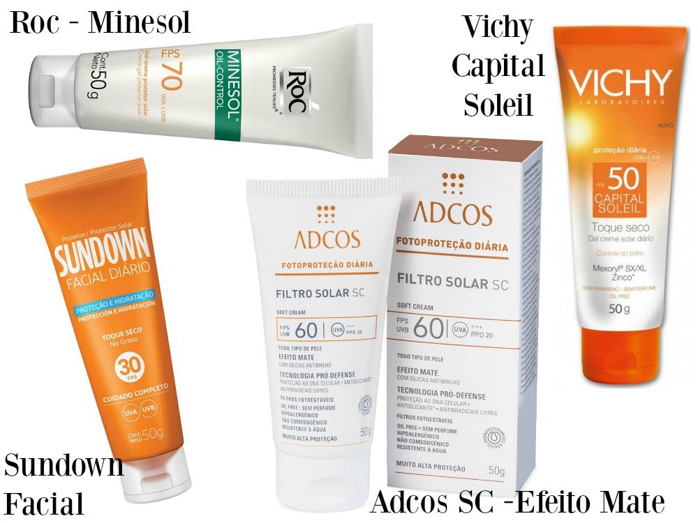 20 Protetores Solares para pele oleosa