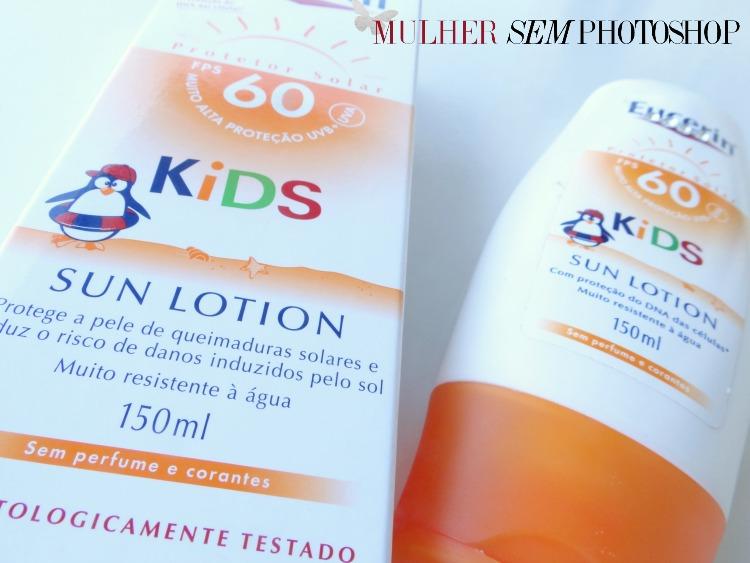 Eucerin Kids Protetor Solar para crianças