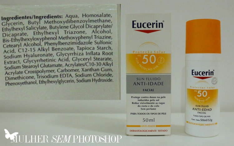 Eucerin Sun Fluido Anti Idade resenha