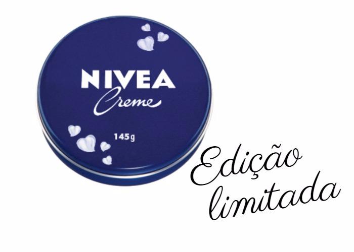 Creme Nivea Latinha Azul - edição limitada 145g