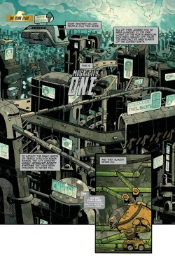 Gorgeous Judge Dredd Page Judge Dredd Page Mulholland Books Page One Bookstore Festival Walk Page One Books Calgary