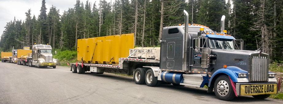 LTL  truckload shipping Mullen Trucking Canada to USA cross