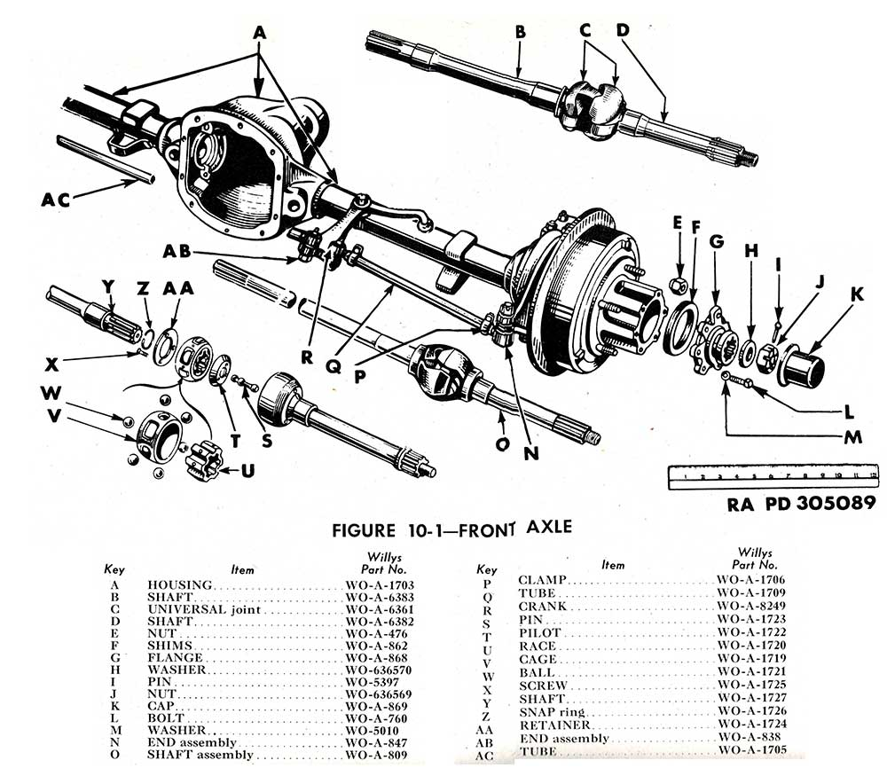 jeep wrangler yj front suspension diagram