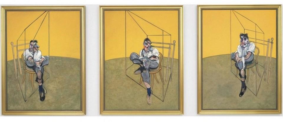 Três Estudos de Lucian Freud