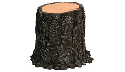 Stereostone Tree Stump