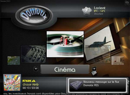 Domotix Media Center 2.6.3