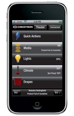 Crestron iPhone SW-MOB-AI