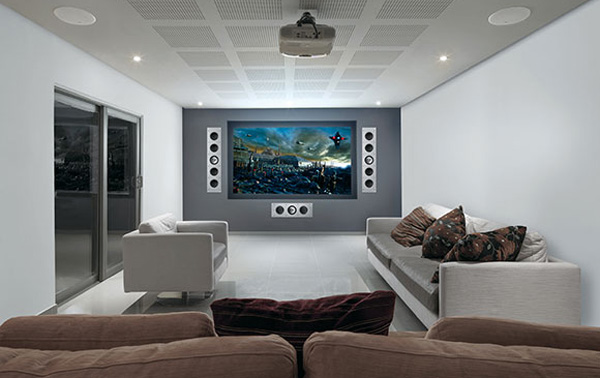 enceintes encastrables thx chez kef pour home cinema int gr. Black Bedroom Furniture Sets. Home Design Ideas