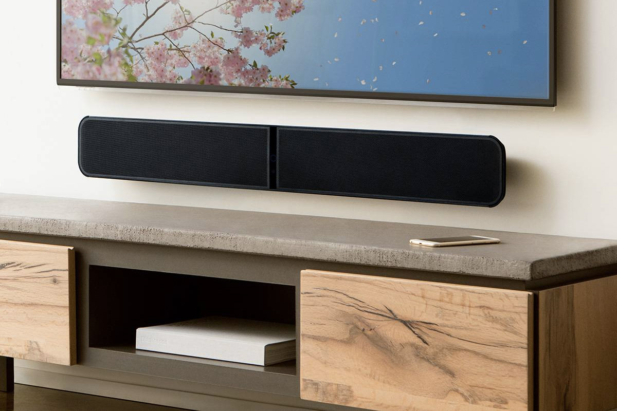 Une barre de son pour le home cinema, le multiroom et l'audio Hi-Res