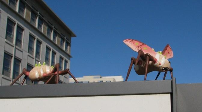 Paranoia Bugs by Marnia Johnston.